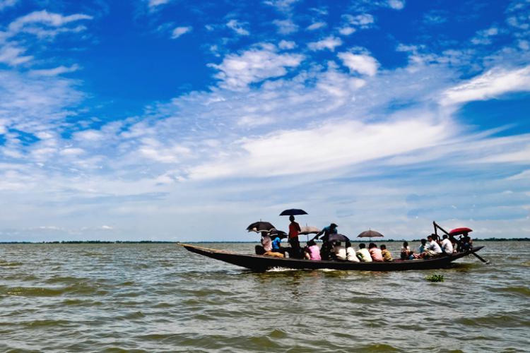 boat at haor
